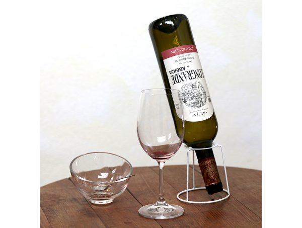 Botella de vino longrande crianza